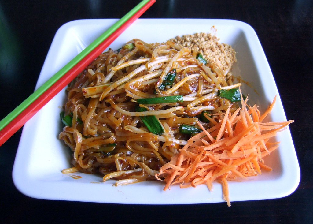 Vegan Thai food